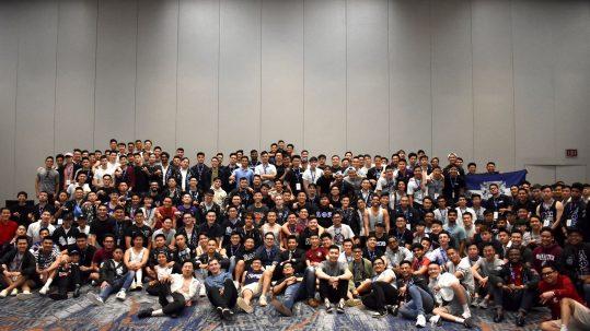 Active members of Lambda Phi Epsilon.