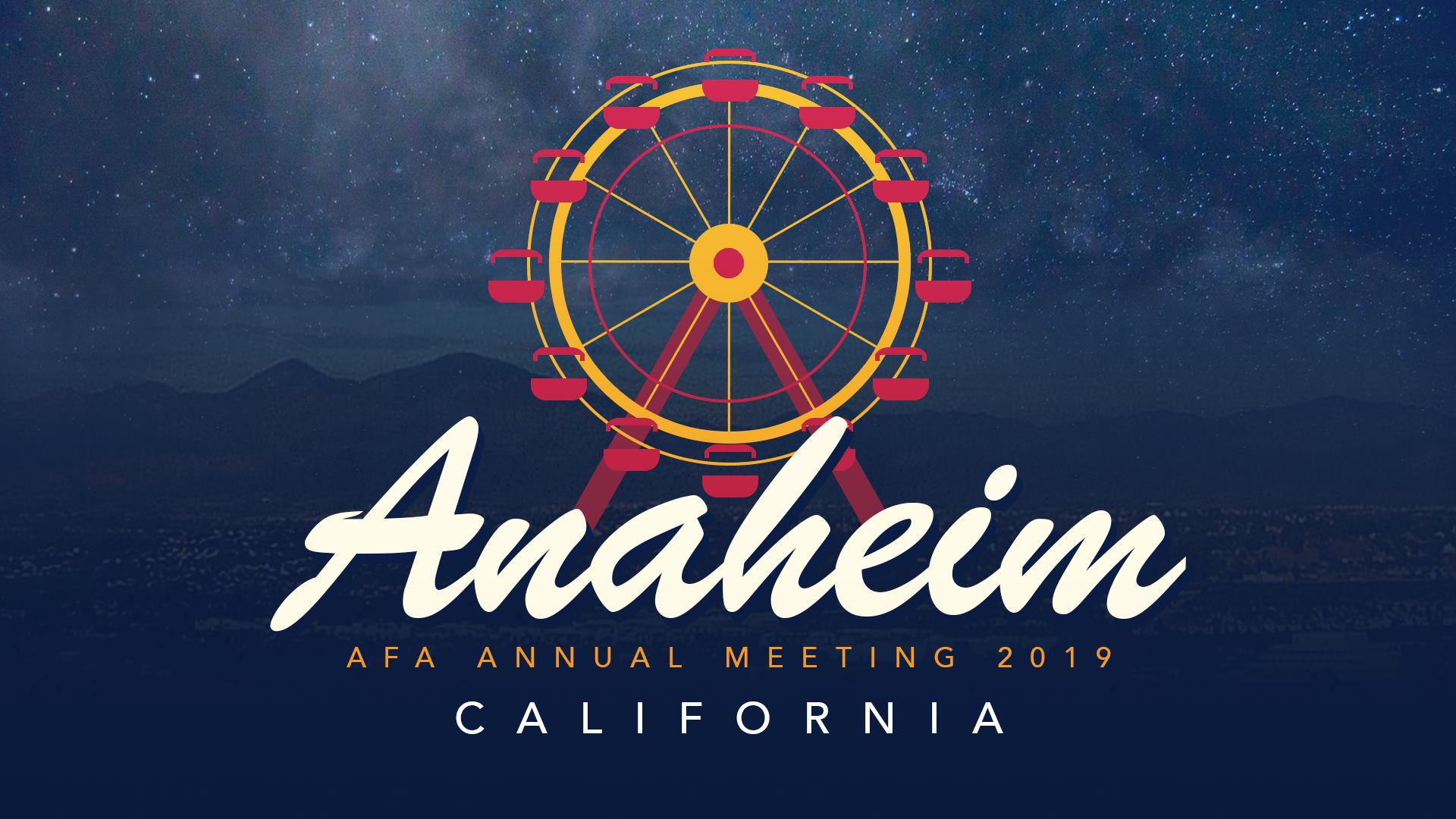 AFA Annual Meeting Banner