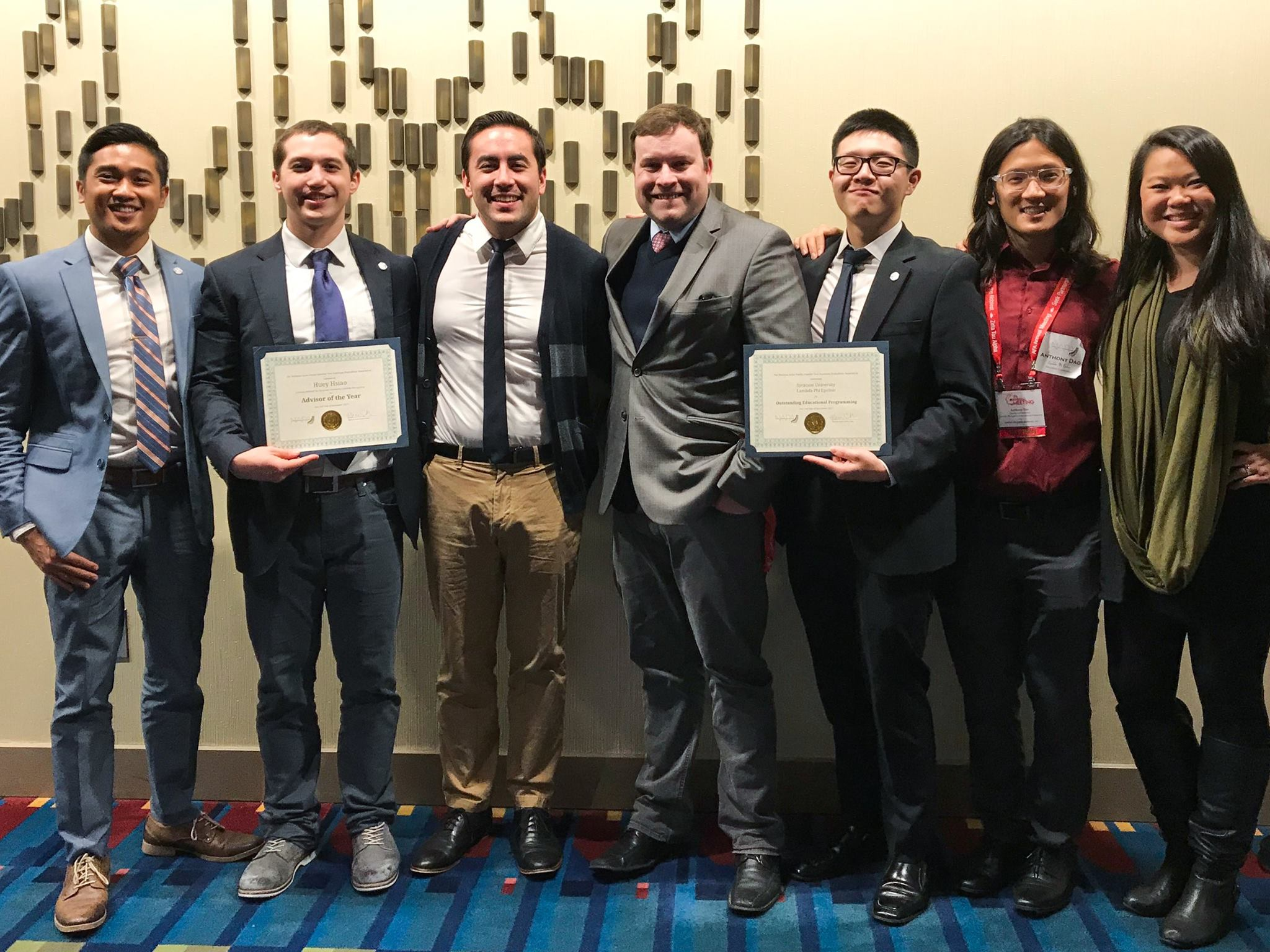 Lambda Phi Epsilon wins awards from the National APIDA Panhellenic Association