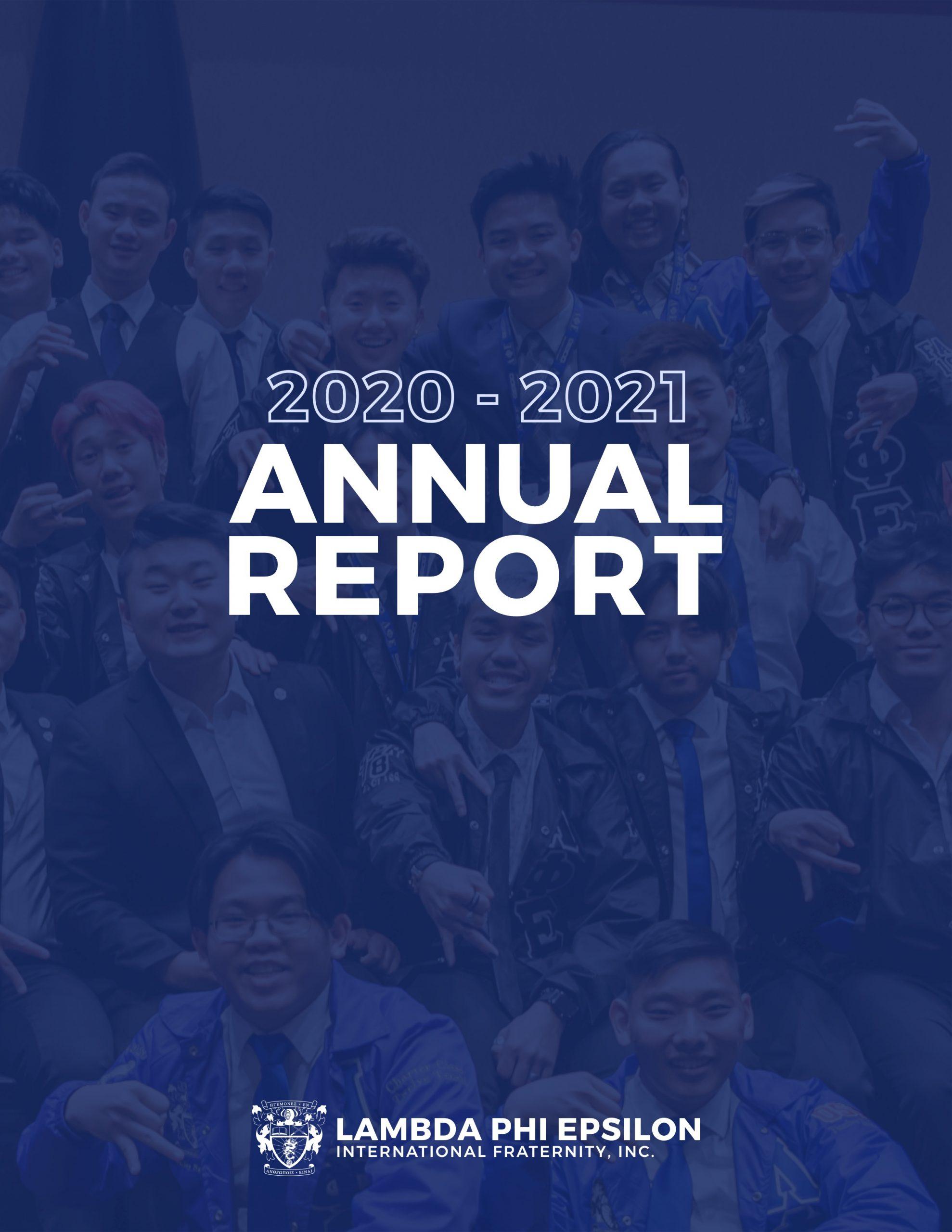 LFE Annual Report 2020-2021