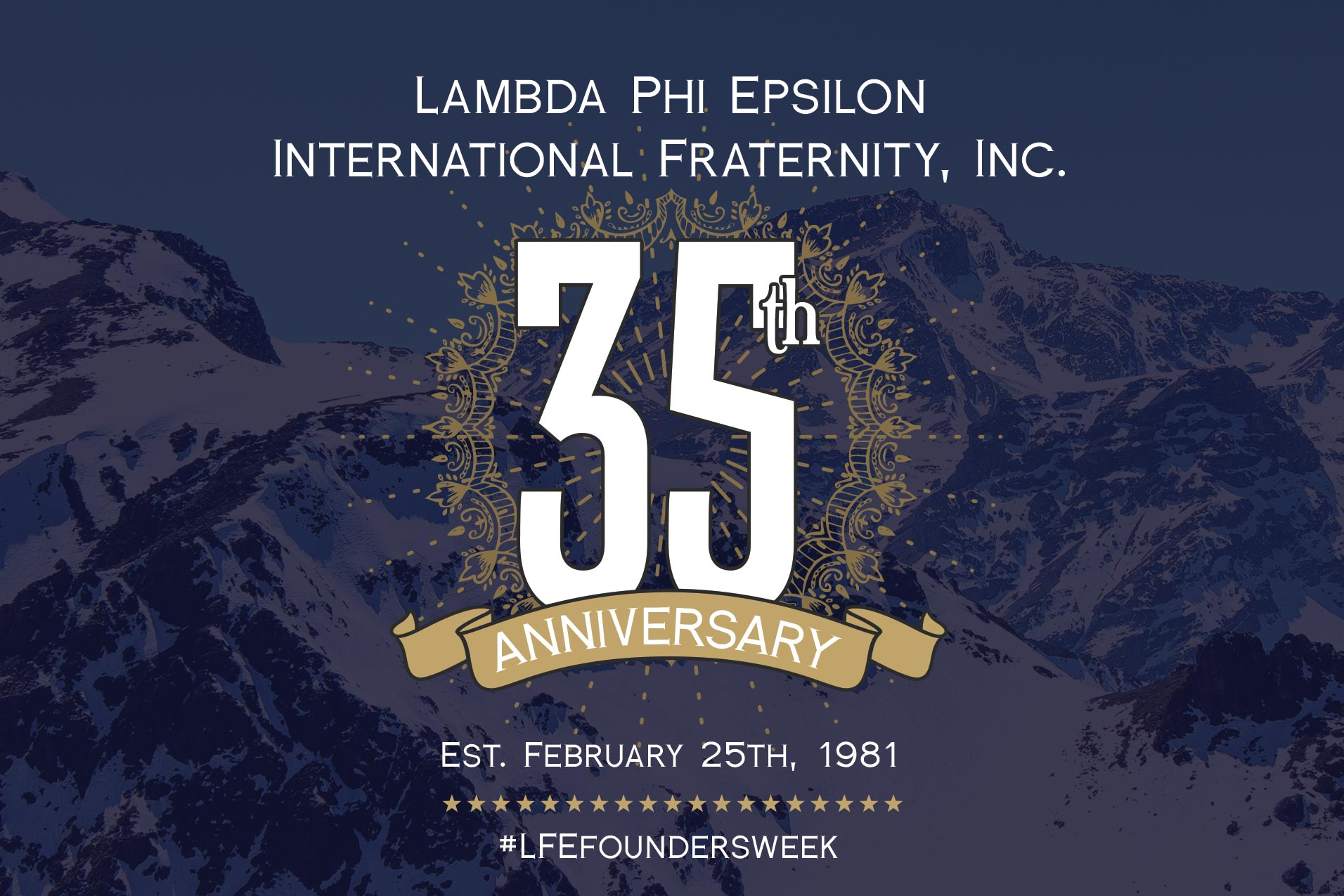 Banner for Founders Week 2016