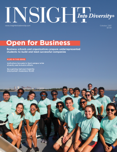 Magazine cover of Insight Into Diversity