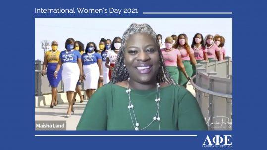 Maisha Land speaks with LFE for International Women's Day