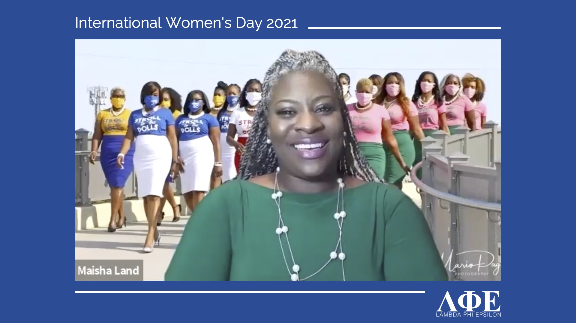 Maisha Land speaks with LFE for International Women's Day