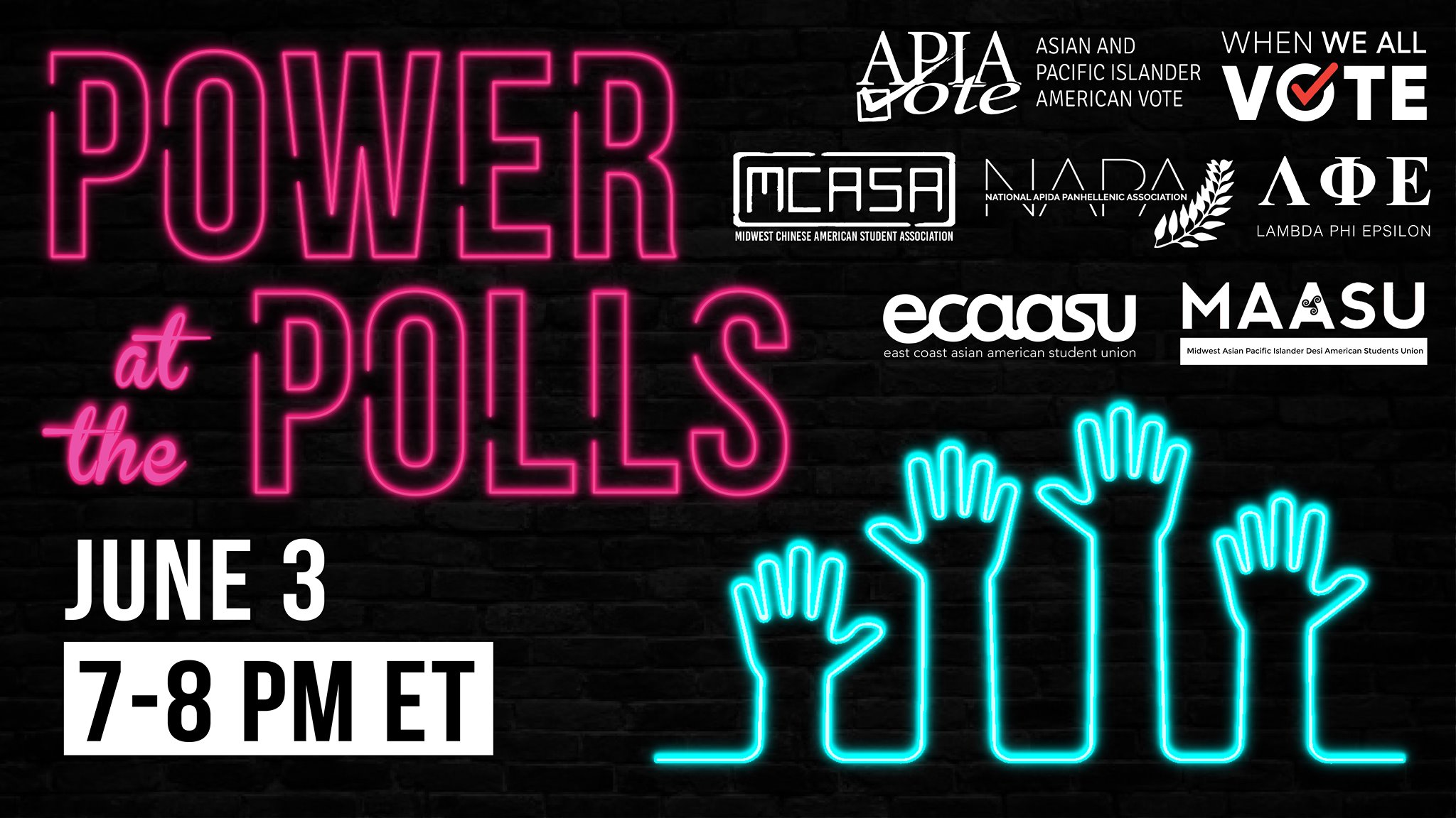 Power at the Polls Banner