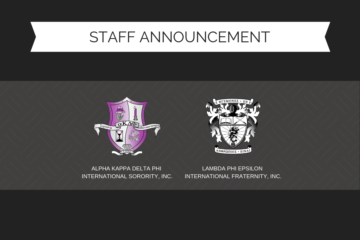 Staff Announcement