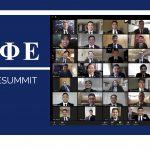Zoom grid of Summit 2020 attendees