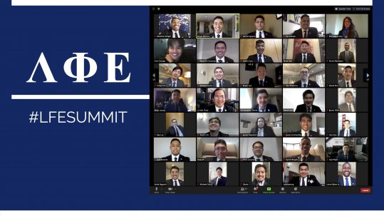 Zoom grid of Summit 2020 attendees