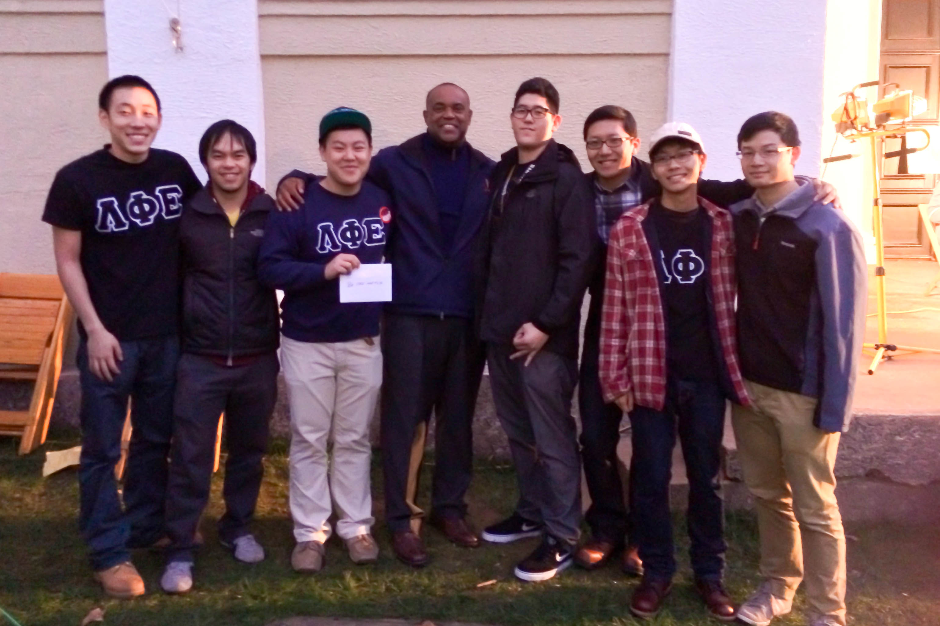 UVA Lambda Phi Epsilon will pick by coach Mike London to receive charity