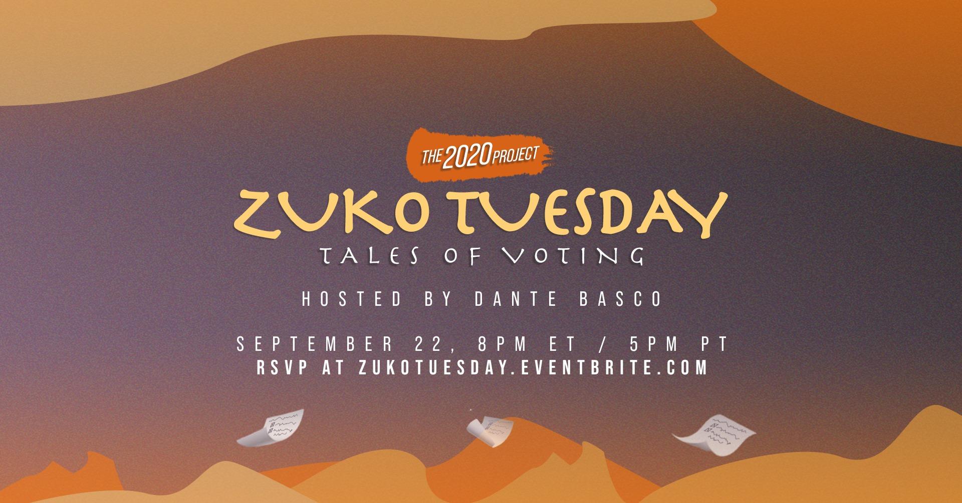 Zuko Tuesday Banner
